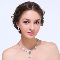Elegant Zircon With Cubic Zirconia Ladies' Jewelry Sets