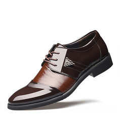 Men's Leatherette Lace-up Dress Shoes Work Men's Oxfords (259172240)