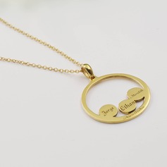 Ladies' Hottest With Round Engraved For Mother/For Friends/For Couple