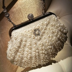 Elegant Imitation Pearl Clutches/Satchel