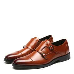 Men's Leatherette Monk-straps Dress Shoes Men's Oxfords