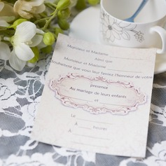 Klassisk stil Enkla kort Invitation Cards