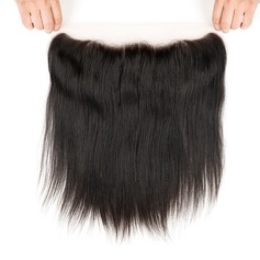"""13""""*4"""" 4A Non remy Straight Human Hair Closure (Sold in a single piece) 70g"""
