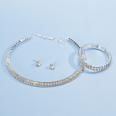 Alloy/Rhinestones Ladies' Jewelry Sets