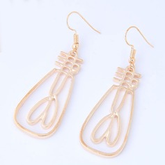 Beautiful Alloy Women's Fashion Earrings (Set of 2)