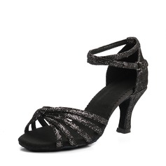 Women's Microfiber Leather Latin Dance Shoes