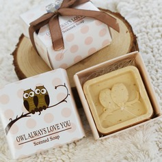 """Owl Always Love You"" Soaps With Ribbons"