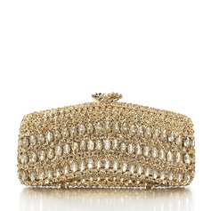 Elegant Alloy/Silver Plated Bridal Purse/Luxury Clutches