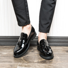 Men's Patent Leather Tassel Loafer Casual Men's Loafers