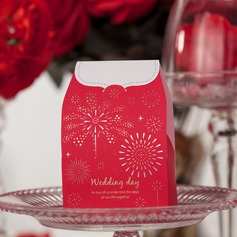"""Wedding Day"" Cuboid Favor Boxes (Set of 12)"