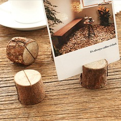 Tree Design Round Wooden Place Cards/Decorative Accessories