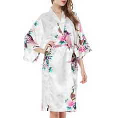 Polyester Bride Bridesmaid Mom Floral Robes (248149778)