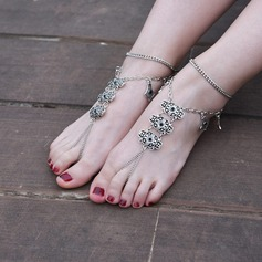 Alloy Foot Jewellery (Sold in a single piece) (107130775)