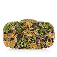 Attractive Crystal/ Rhinestone/Alloy Clutches/Luxury Clutches (012076310)