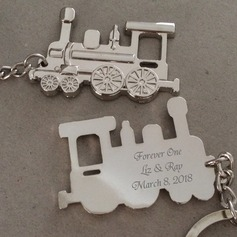 Personalized Stainless Steel/Zinc Alloy Keychains