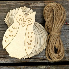 Creative Gifts Creative Owl Wooden (Set of 10) Non-personalized Gifts