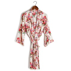 Cotton Bride Bridesmaid Mom Floral Robes (248155098)