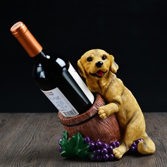 Dog Resin Bottle Holder / Wine Rack