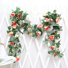 Beautiful Silk Flower Wall Decoration