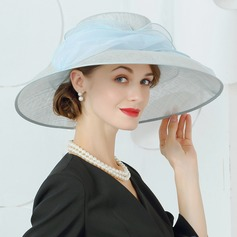 Damer' Mode/Särskilda/Elegant Batist Basker Hat/Kentucky Derby Hattar