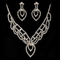 Hottest Alloy/Rhinestones Jewelry Sets