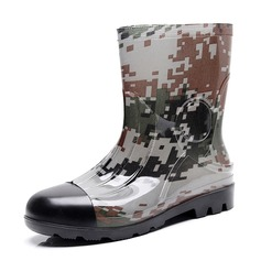 Men's PVC Rain Boats Casual Men's Boots (261172557)