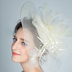 Elegant Rhinsten/Netto garn Fascinators