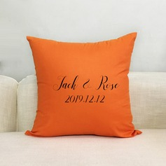 Elegant Classic Pretty Personalized Solid Color Polyester Pillow