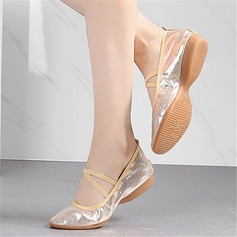 Women's Leatherette Modern Practice Dance Shoes (053216504)