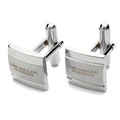 Personalized Zinc Alloy Cufflinks (Set of 2) (118051271)
