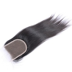 "4""*4"" 6A Straight Human Hair Closure (Sold in a single piece)"