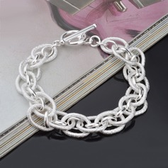 Exquisite Silver Plated Women's Fashion Bracelets (Sold in a single piece)