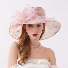 Ladies' Elegant/Nice Chiffon Beach/Sun Hats/Kentucky Derby Hats/Tea Party Hats