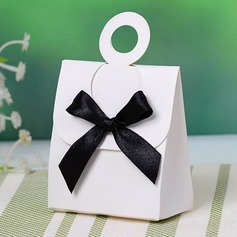 Simple Favor Boxes With Bow (Set of 12)