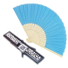 """Fantasy Time"" Bamboo Hand fan (Sold in a single)"