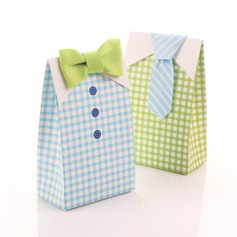 """Happy Wedding"" Favor Boxes (Set of 12)"