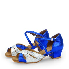 Kids' Leatherette Latin Dance Shoes