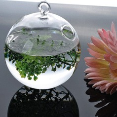 Diameter 8cm Lovely Simple Hanging Glass Vase (Sold in a single piece)