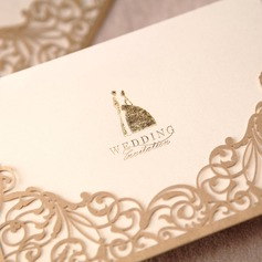 la novia y del novio del estilo Wrap & Pocket Invitation Cards  (114024220)