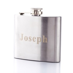 Personalized Square Stainless Steel 140ml(5-oz)