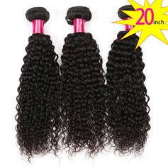 20 inch 8A Brazilian Virgin Human Hair Kinky Curly(1 Bundle 100g)