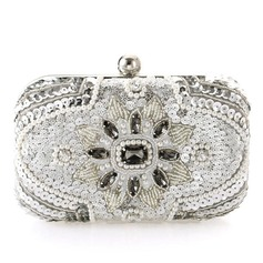 Unique Crystal/ Rhinestone/Imitation Pearl Clutches/Bridal Purse/Minaudiere (012092365)