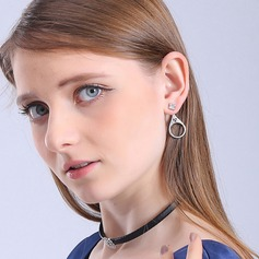 Mode Alliage/Strass Dames Boucles d'oreilles