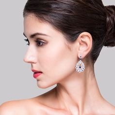 Fancy Zircon Ladies' Earrings