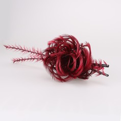 Beautiful Net Yarn/Feather/Cambric Fascinators