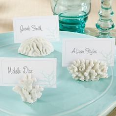 Beach Theme Elegant Place Card Holders (Set of 6)