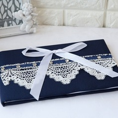 Classic Bow Guestbook & Pen Set