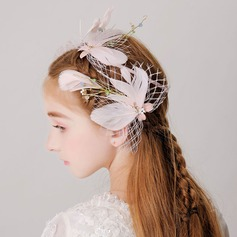 With Feather Hairpins (Set of 3)