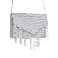 Luminoso Cristallo / strass Pochette/Satchel
