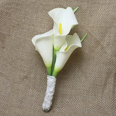 Simple And Elegant PE/Lace Boutonniere